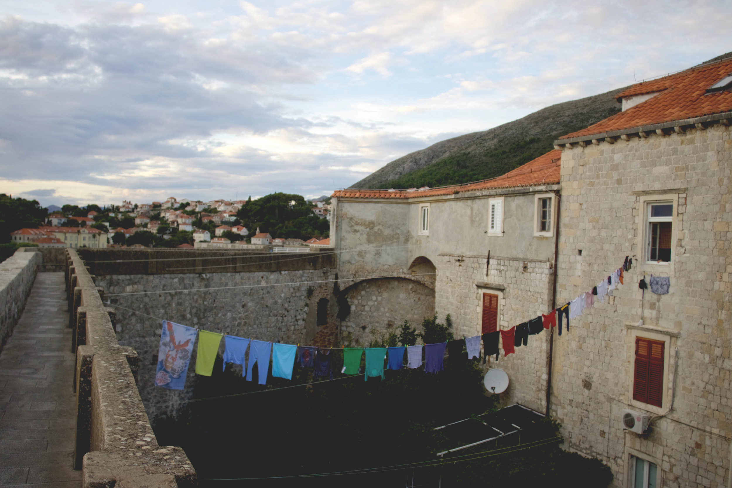 Laundry in the Old Town