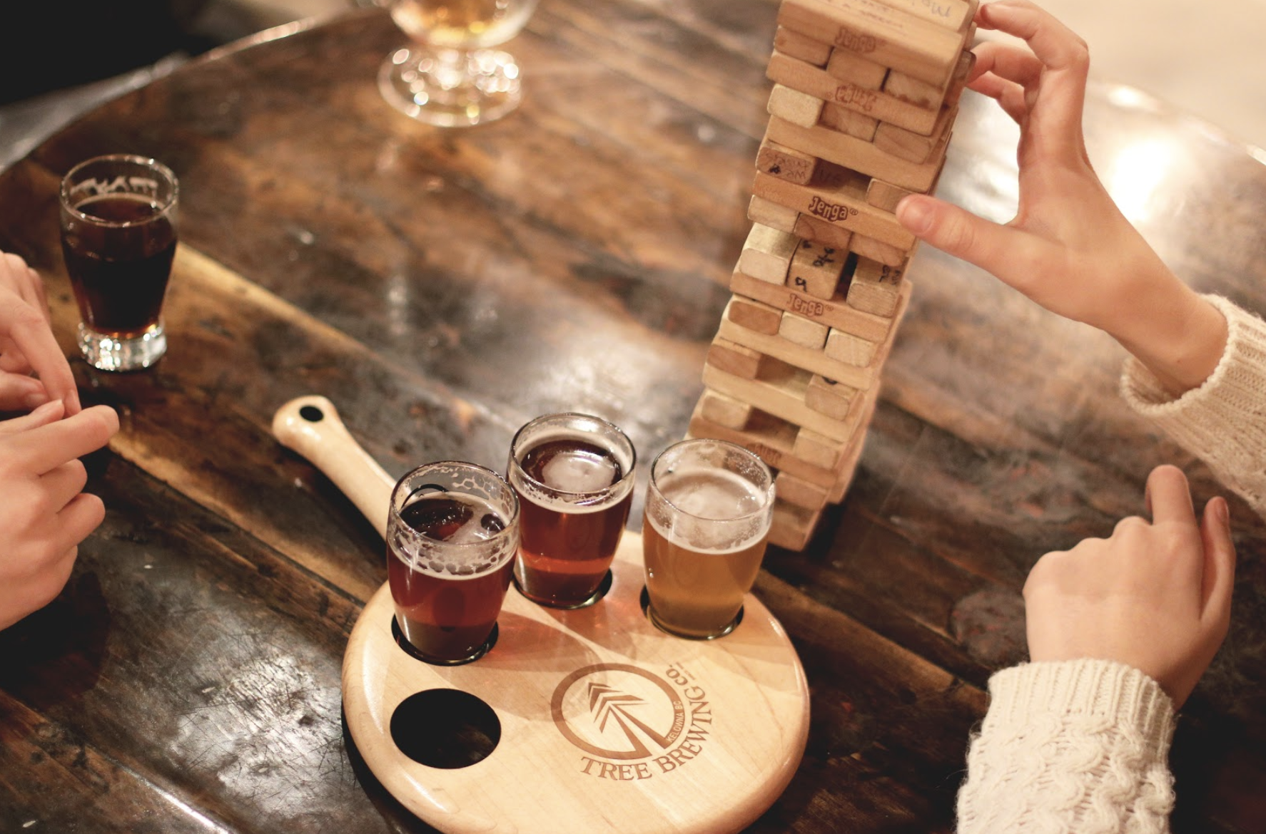 Board Games and Beverages