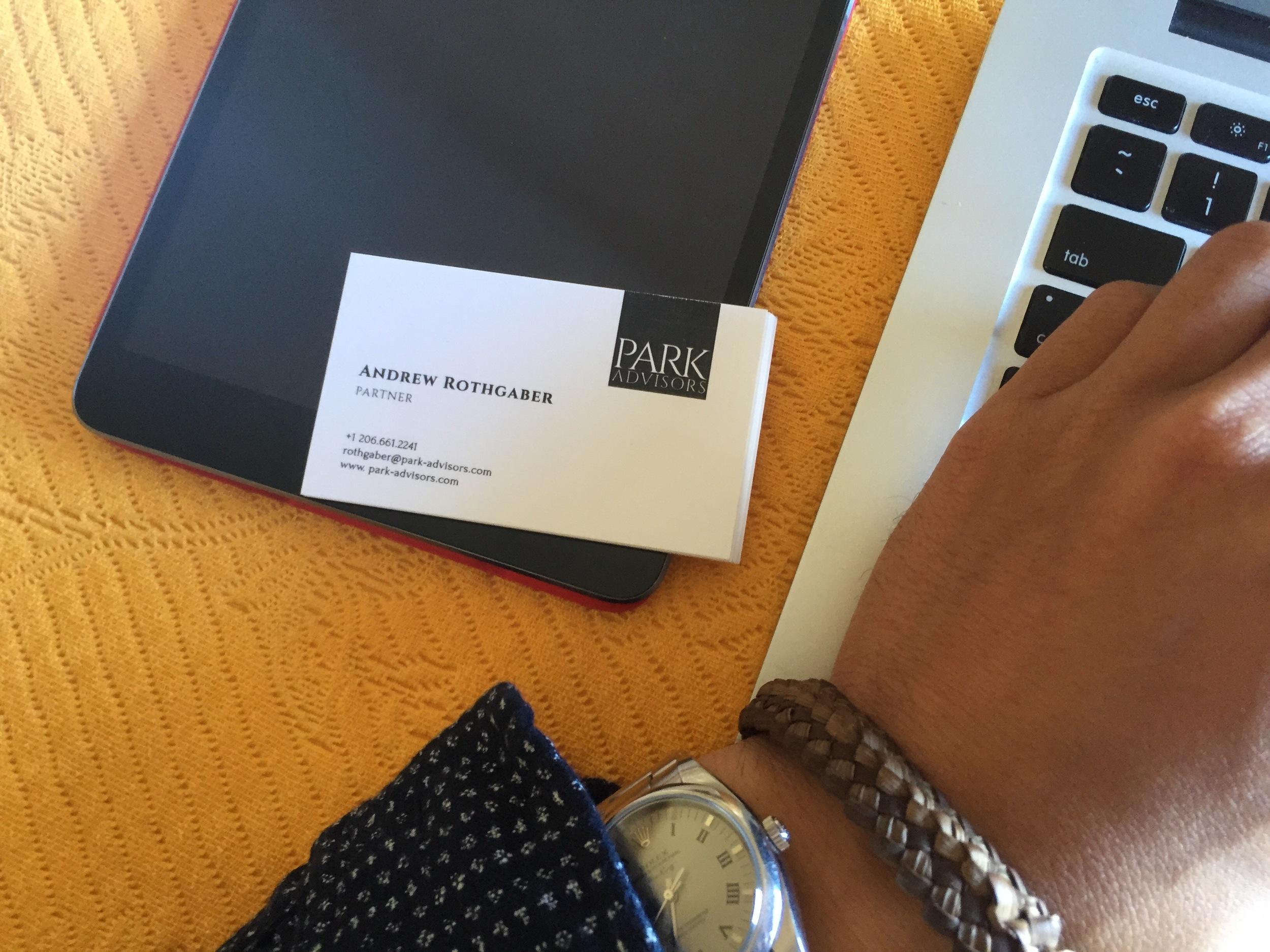 PARK Business Card