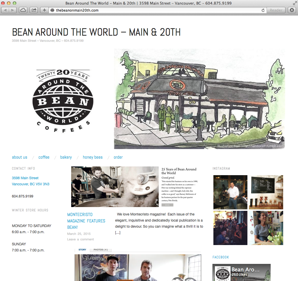 BEAN Website