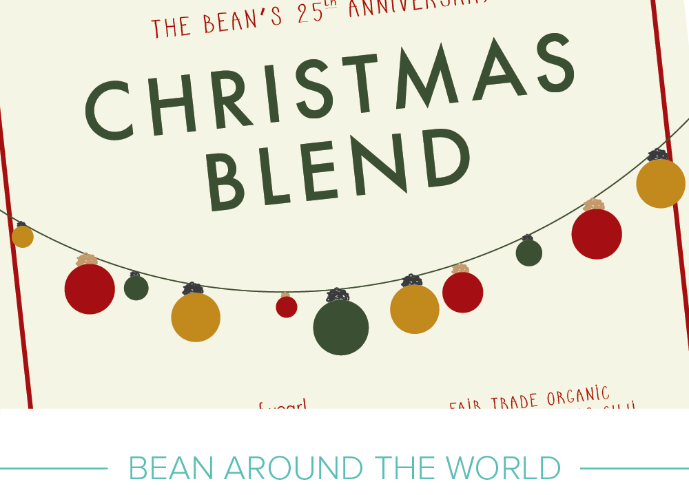 Promotional design: Bean Around The World