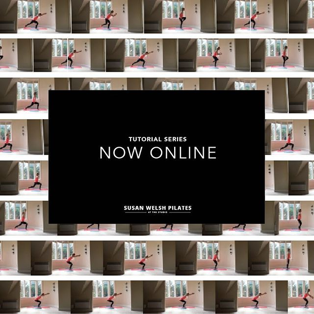| TUTOR | Super proud of how this 13-part tutorial series for @susanwelshpilates came together! Tight, simply shot sequences to keep her clientele practising after her return to Edinburgh. Just the beginning! Link through her profile. #goberemarkable
