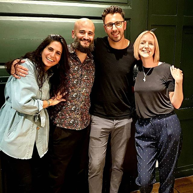Fun times last night @enasalon - co owner, Pedro, use to teach Mus back in the day at Vidal Sassoon London academy & continues to inspire with his work ❤ #smile #ena #enasalon #enaeducation #allilioneducation #hairstylist #hair #hairstyle #haircut #haircolour #create #fashion #style #makeup #fridaynight #london #coventgarden #education #inspiration #hairobsessed