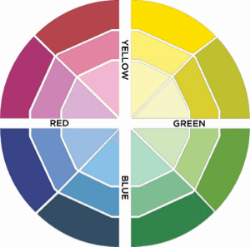 NATURE'S FOUR COLOR WHEEL