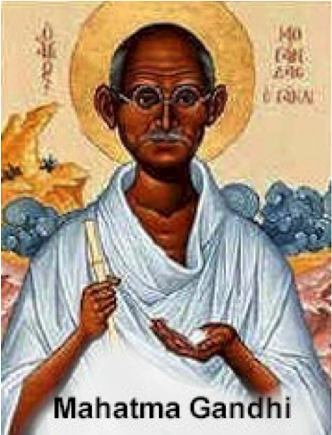 Interspiritual Pioneer Mahatma Gandi