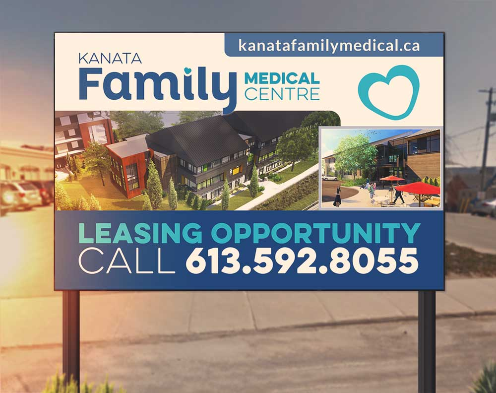 Kanata-Family-Medical-Leasing-Sign