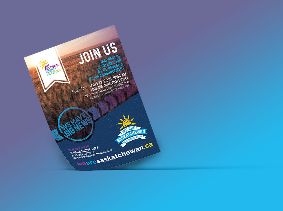 Invitation Template Design for the Capital Campaign