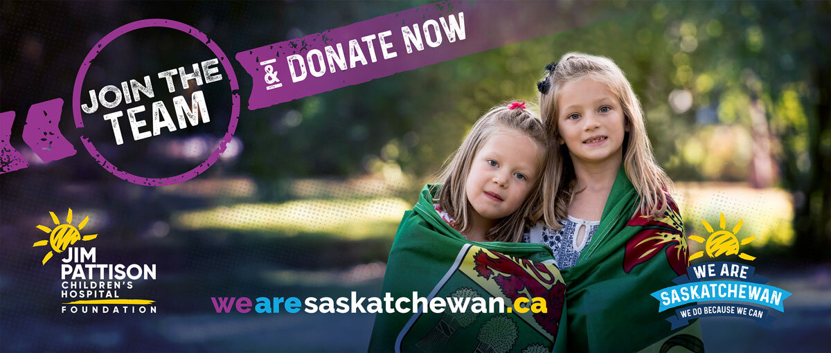 One of the Billboard designs Melanie created while working on contract for the Jim Pattison Children's Hospital Foundation