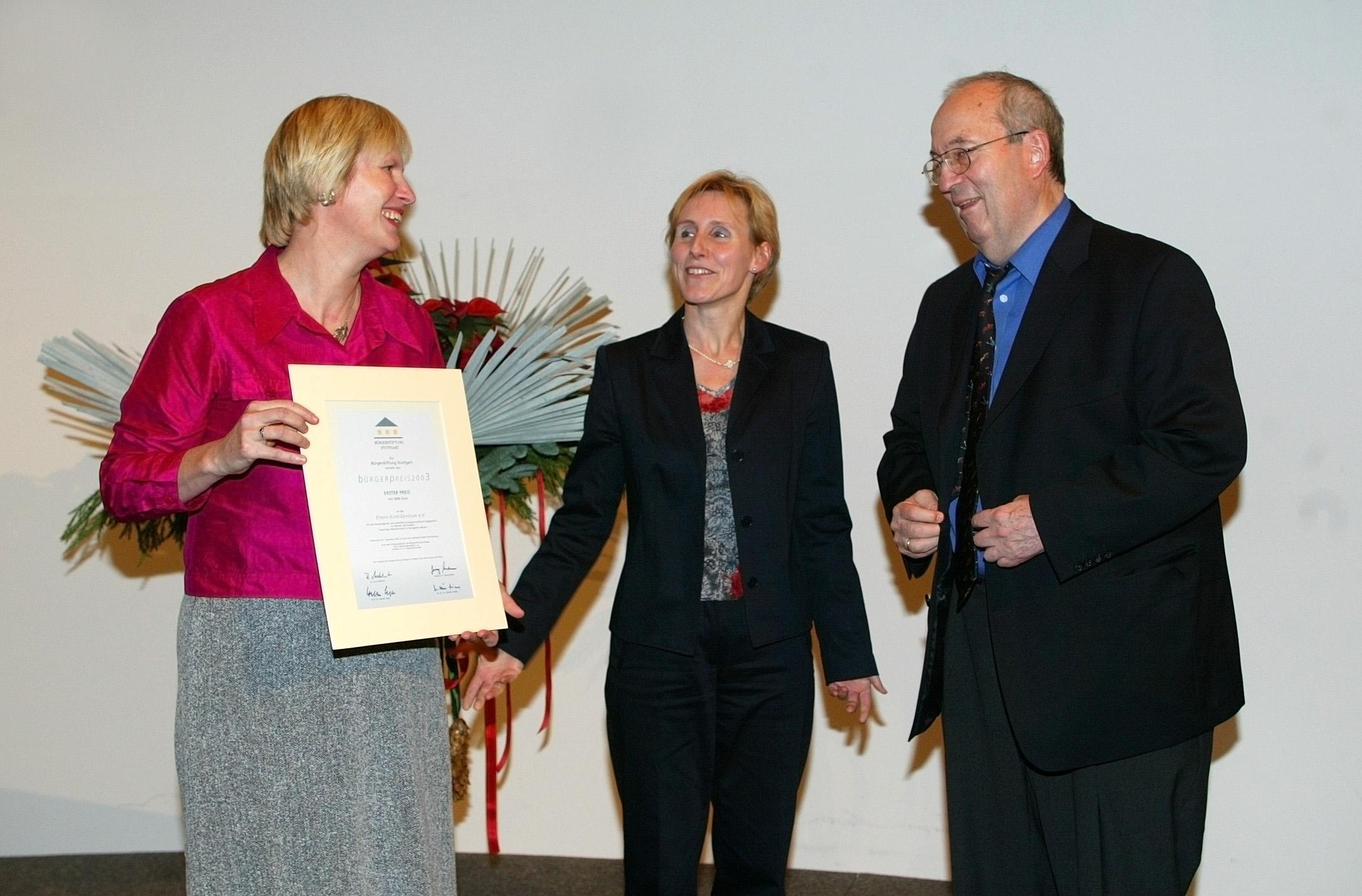 Stuttgarter Bürgerpreis 2003