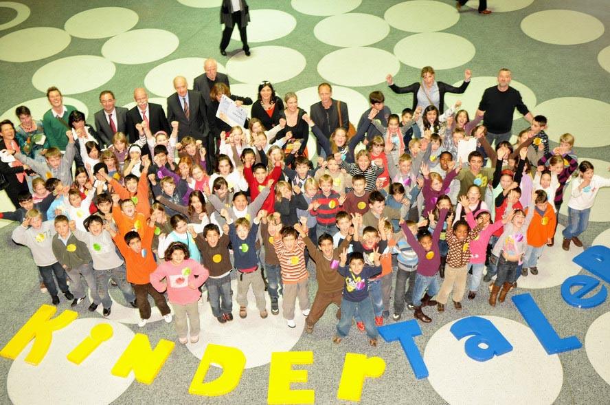 Start für den Stuttgarter Kindertaler