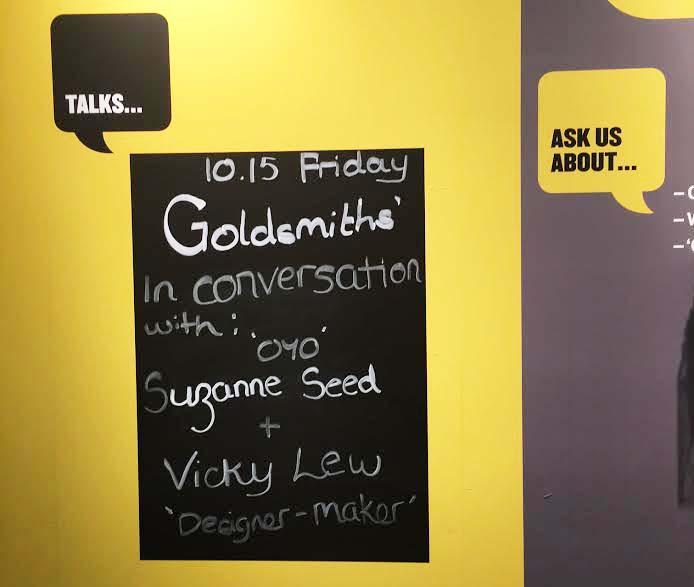 Talk for Goldsmiths
