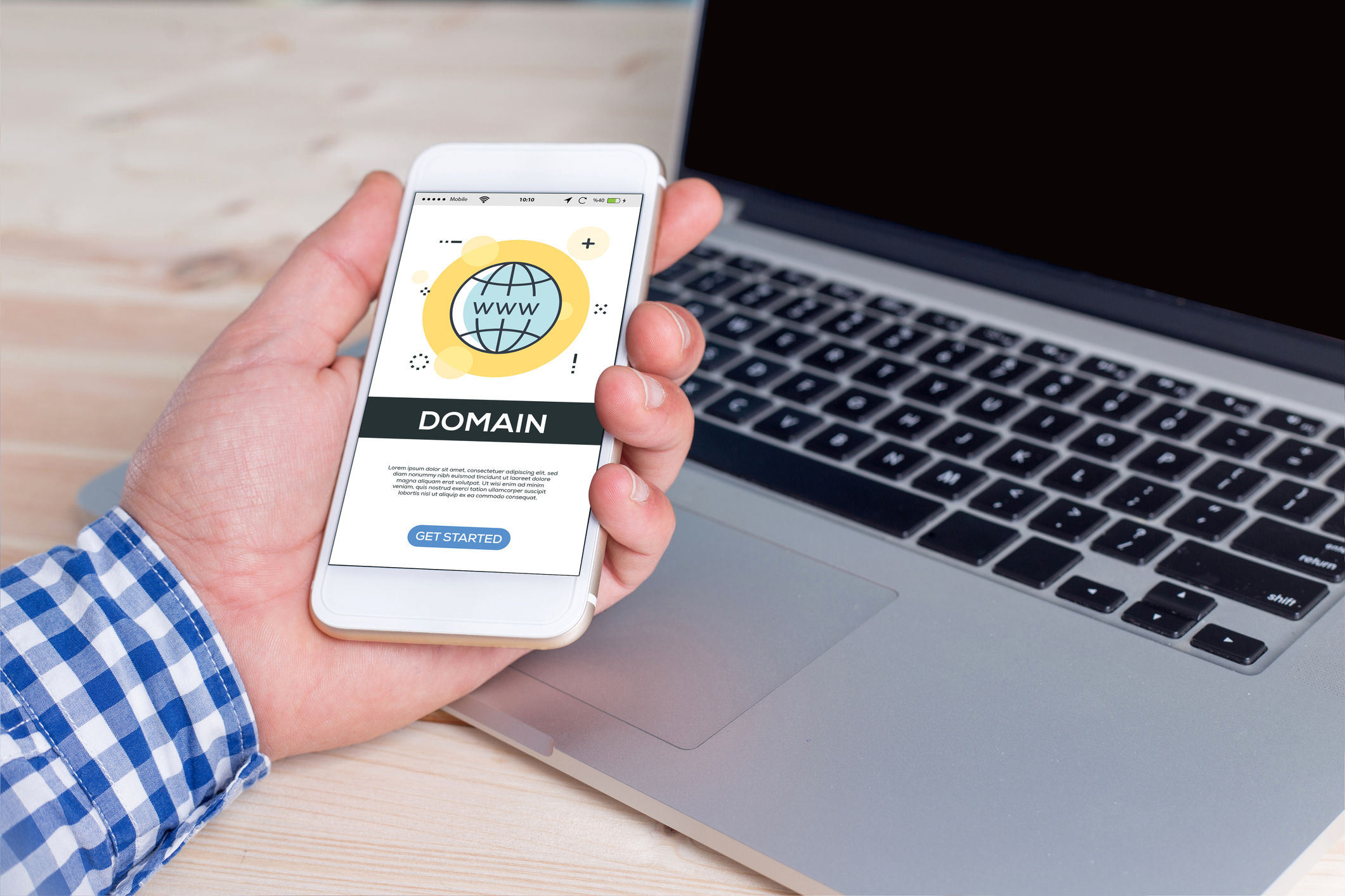 Domain broker