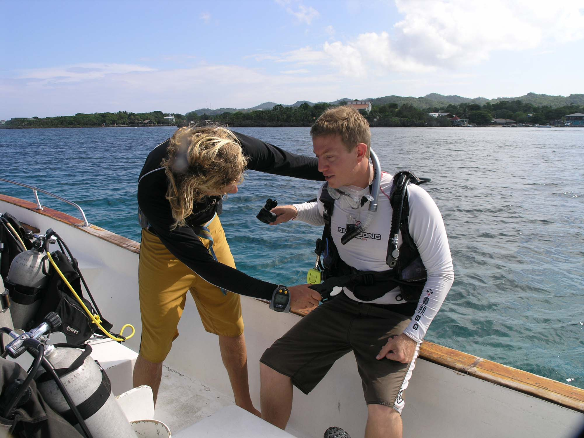 Learning to dive with a PADI Open Water course