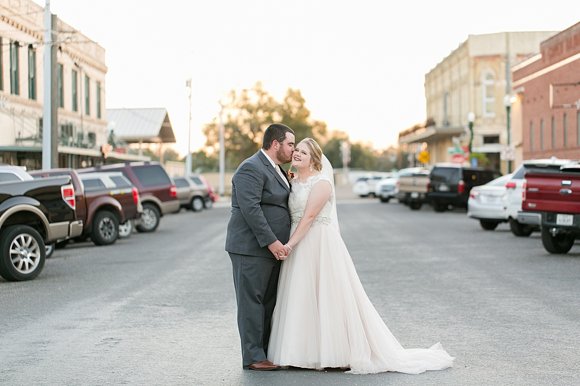 Kendall And Keaton Cuero TExas Wedding