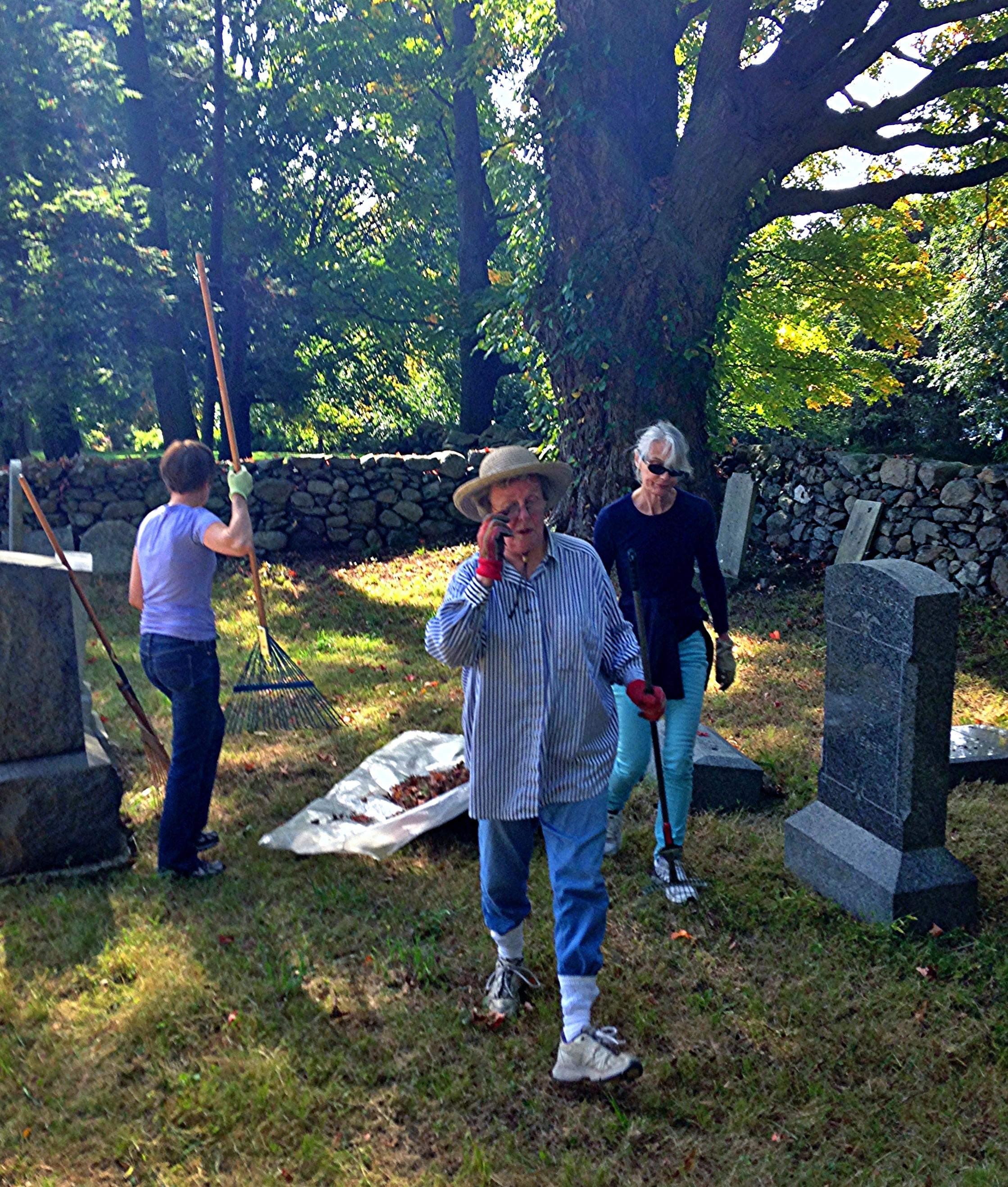 HBC Carter Street Cemetery Clean Up.JPG