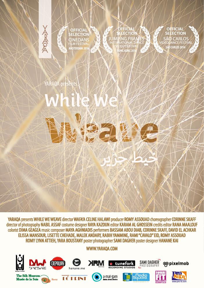 WHILE WE WEAVE  | WHEN DANCE MEETS FILM | short film |    READ MORE >