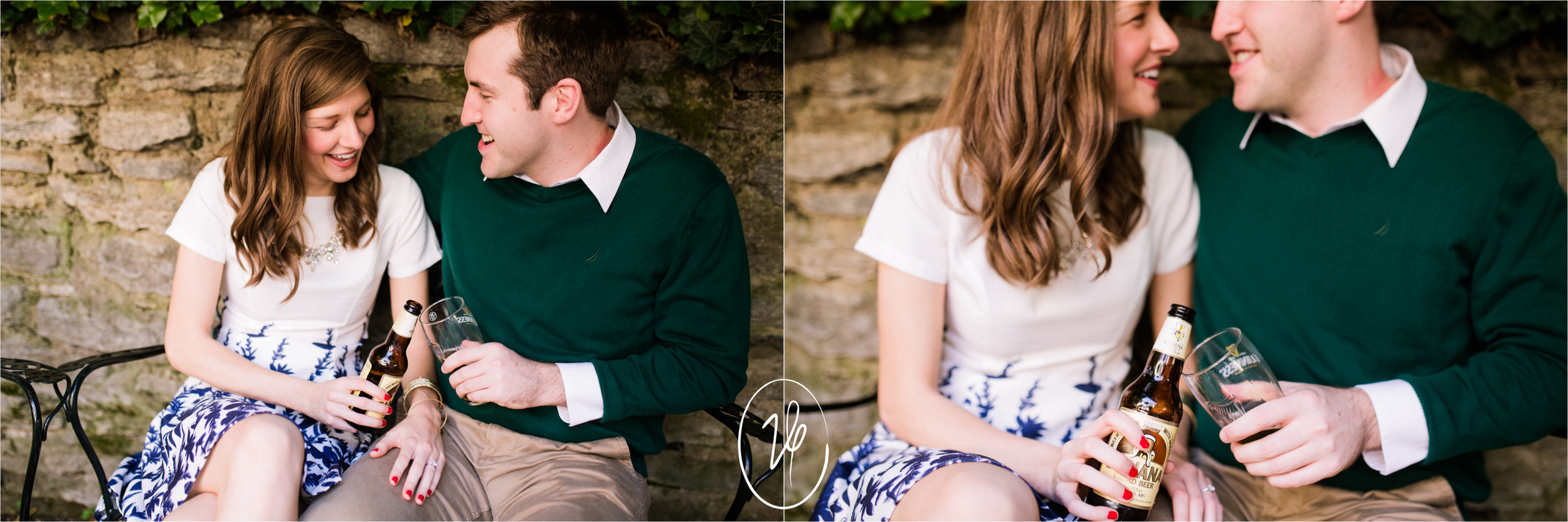 Viridian Ivy Images | Mt Adams Cincinnati Engagement Session