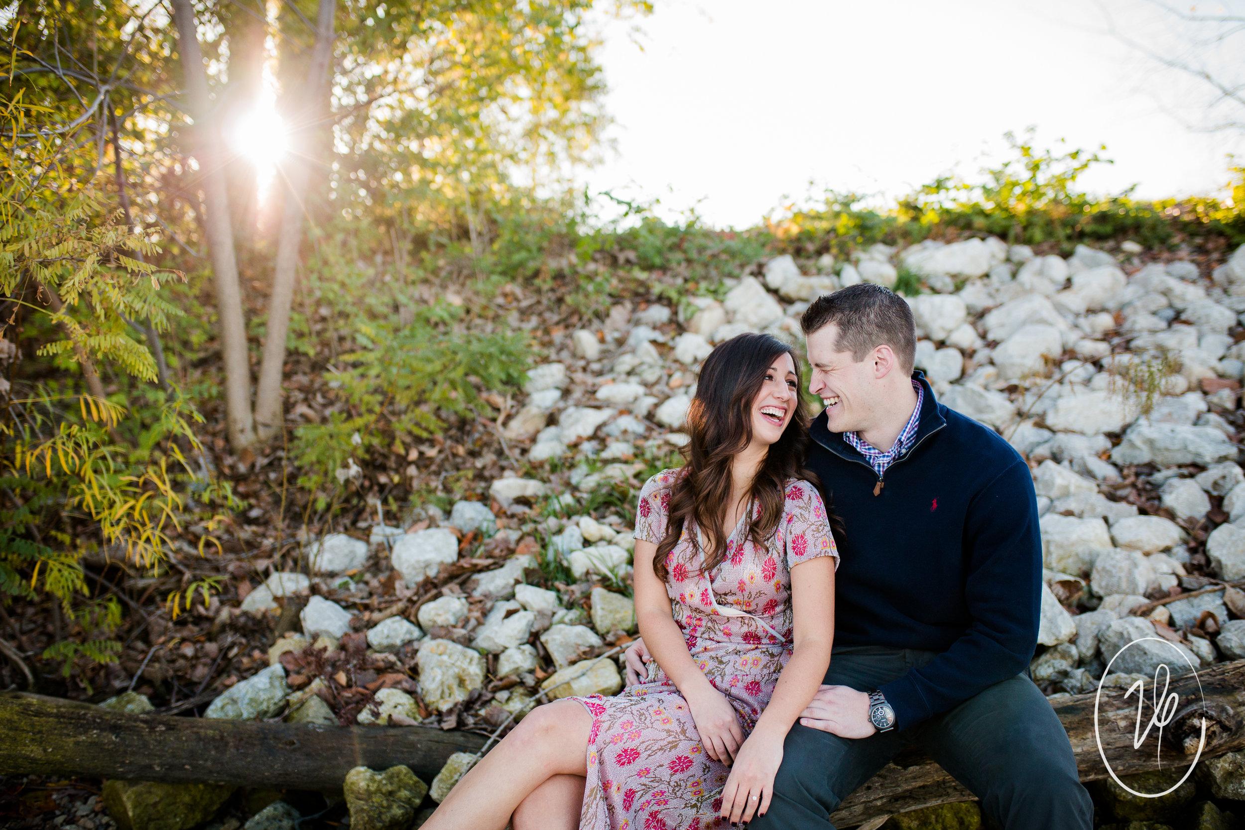 Viridian Ivy Images | Downtown Toledo Engagement Session | Toledo Wedding Photographer
