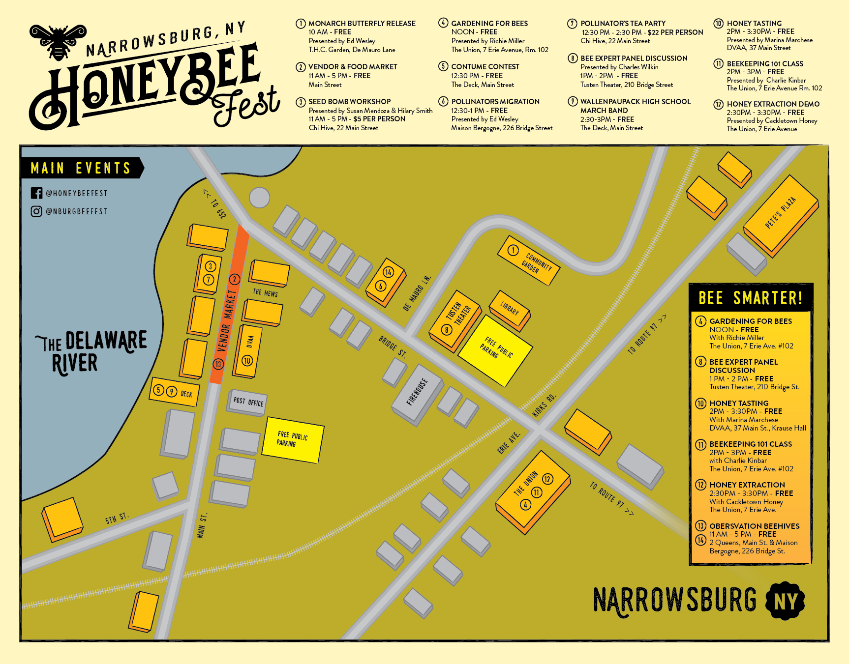 Past Events — Narrowsburg Honey Bee Fest on map of coyotes, map of giraffes, map of butterfly, map of bulls, map of swans, map of fruit, map of caribou, map of food, map of mosquitoes, map of people, map of wasp, map of firebrats, map of turtles, map of halloween, map of peacocks, map of hornets, map of salt, map of possums, map of art, map of ladybugs,
