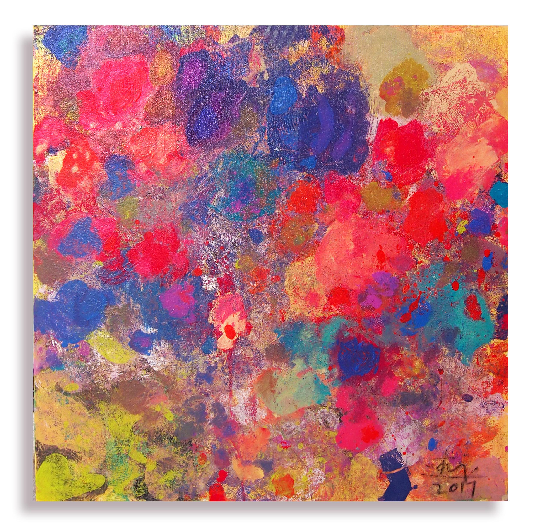 - Autumn Breeze II   Mixed Media on Canvas   30