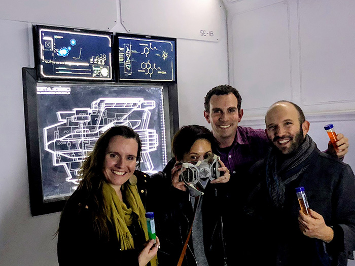 """Our group loved the 'Starship: Desolation' escape room, both the newbies and the experienced escape room players. The organizers have put a ton of thought into a great plot with puzzles and props that all fit seamlessly together to make an exciting, immersive experience.""  - Mark Risher"