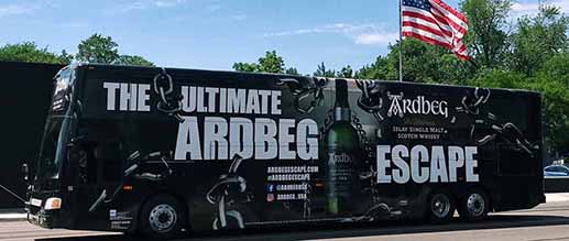 ARDBEG - Mobile Escape Room Across the United States With 300+ Activations