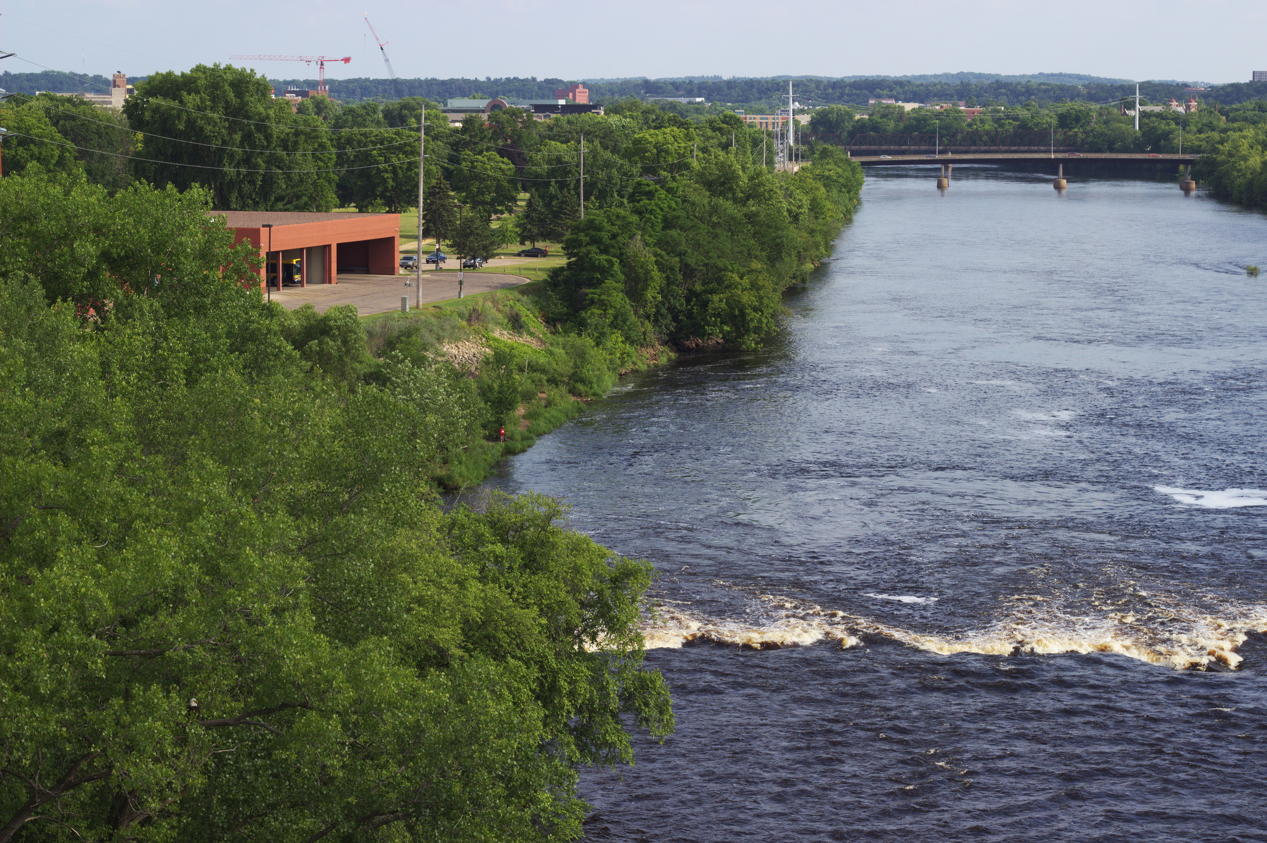 High Bridge Opens in Eau Claire