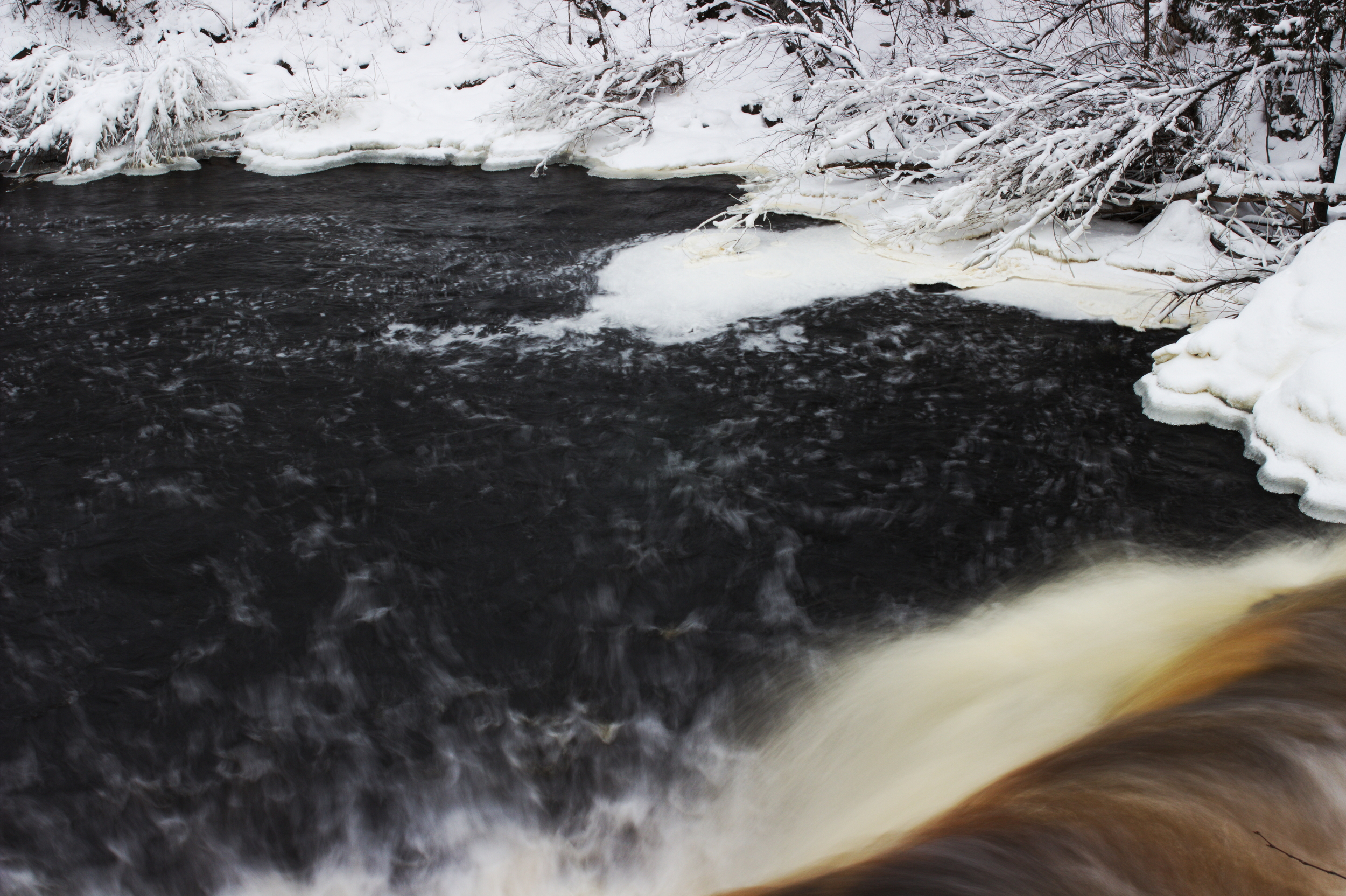 Peterson Falls on the Montreal River