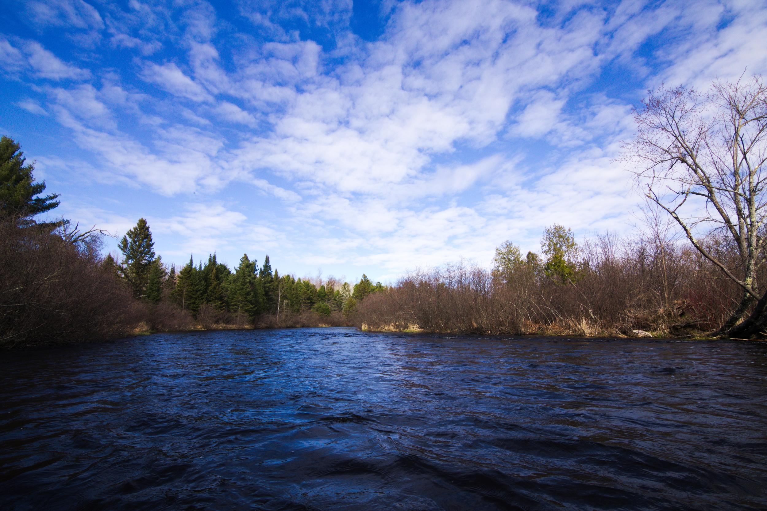 Border Brule River