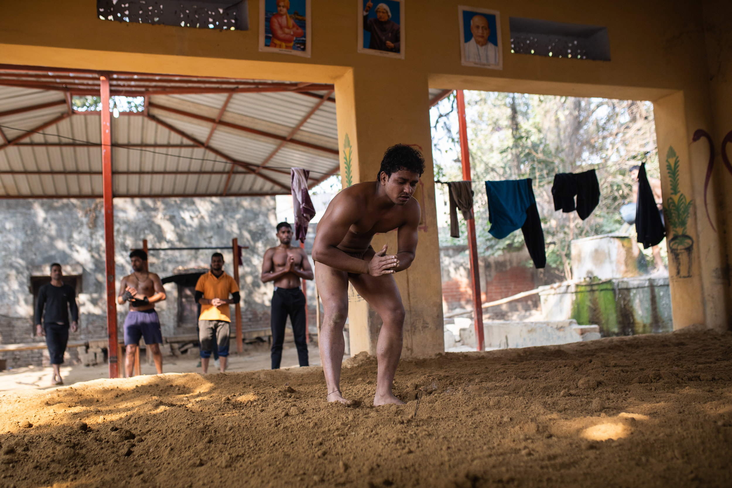 Kushti Wrestling Gym Varanasi India Documentary 8