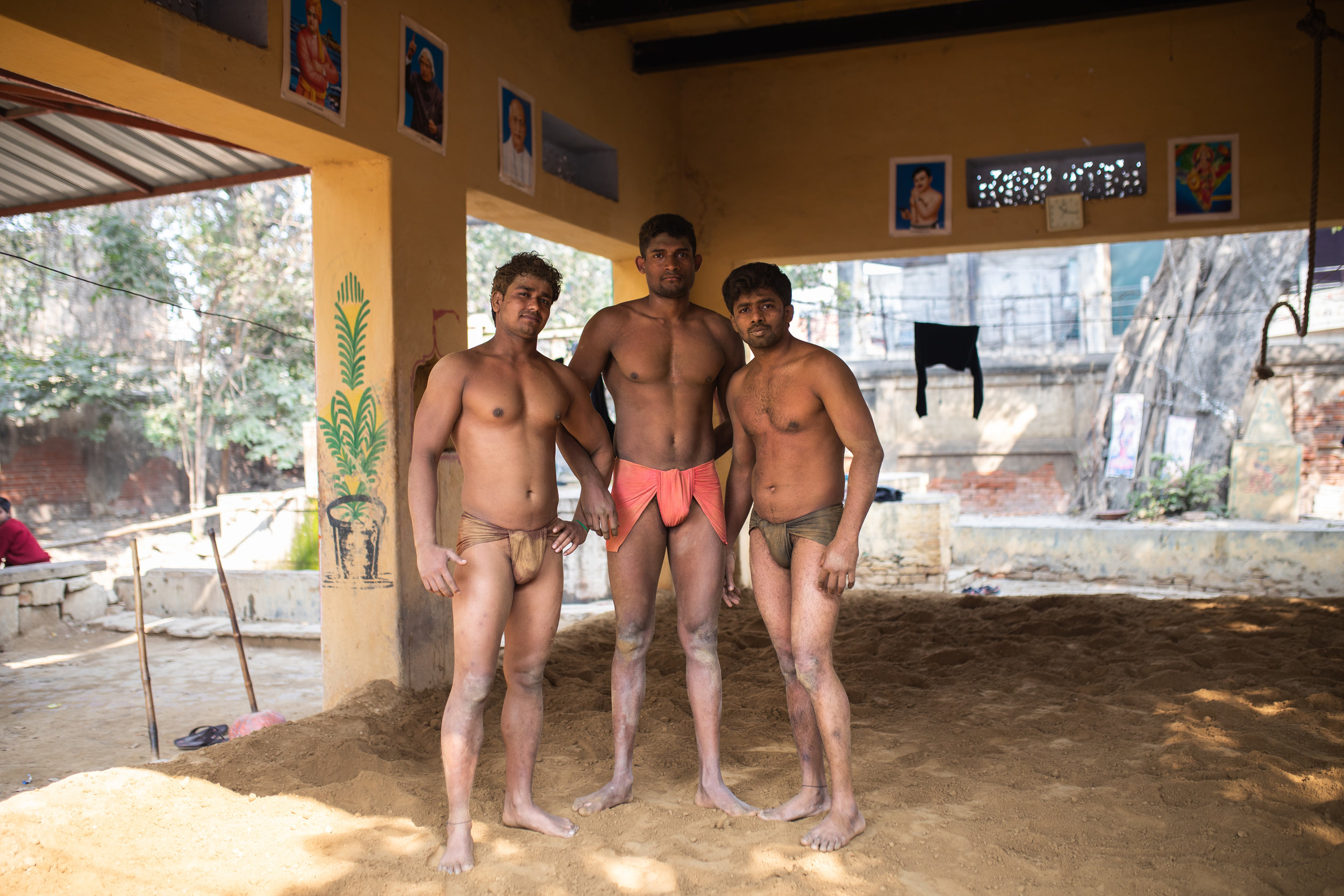 Kushti Wrestling Gym Varanasi India Documentary 13