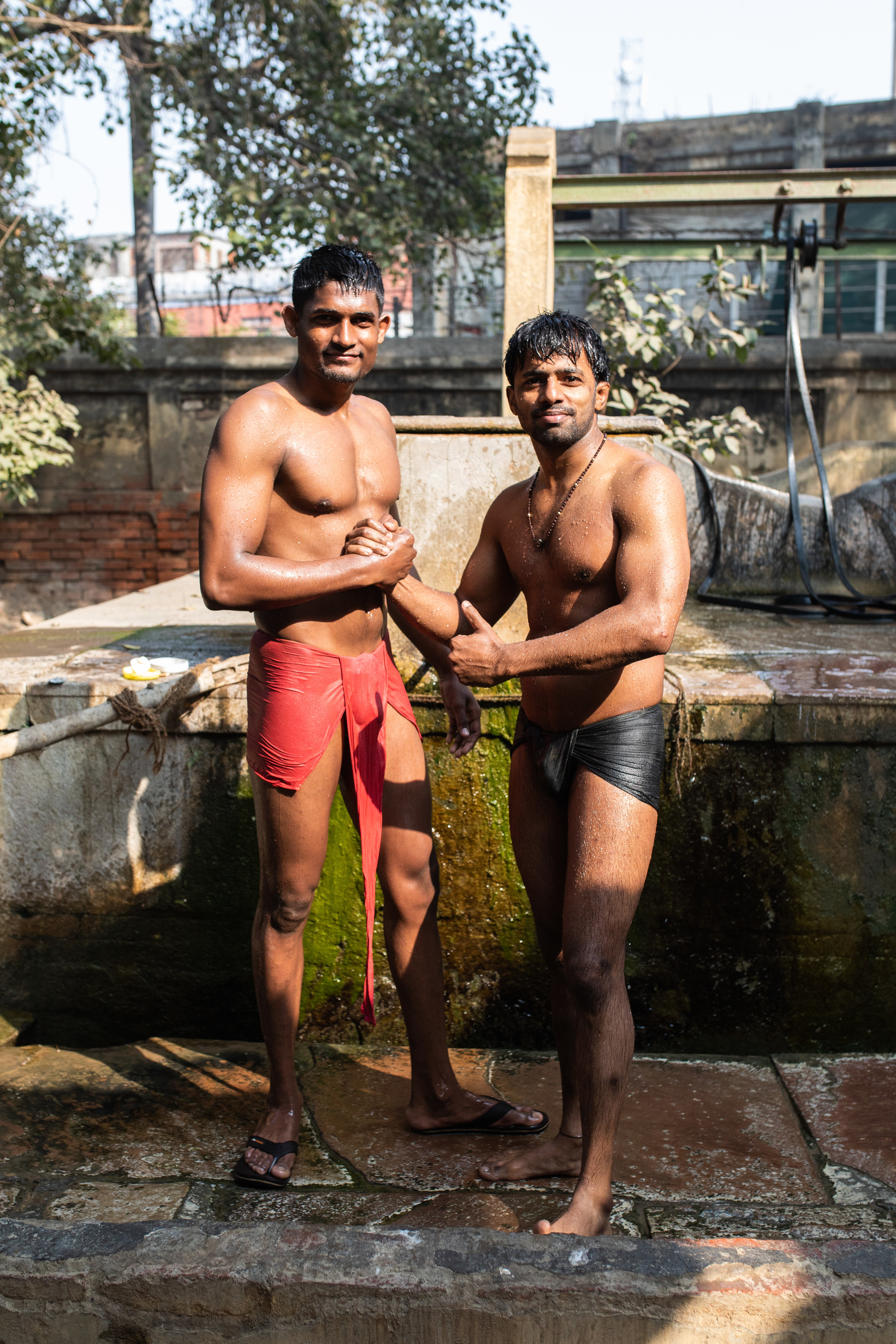 Backpacking India pt4: The Kushti wrestlers of Varanasi