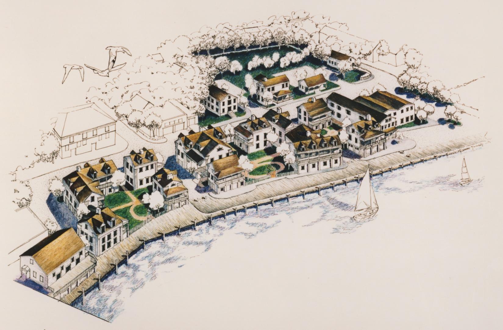 Mystic_Connecticut.Cottrell_Landing_Development.Neighborhood_Planning.Walkable.Robert_Orr_&_Associates.Architecture.Landscape_Architecture.New_Urbanism.Windom.Whole_Project.jpg