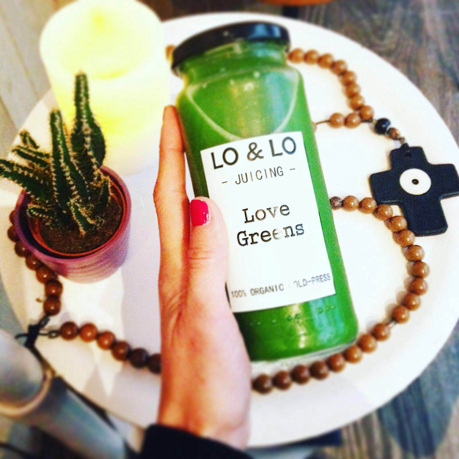 Love Greens cold-pressed juice -  a detox favorite!
