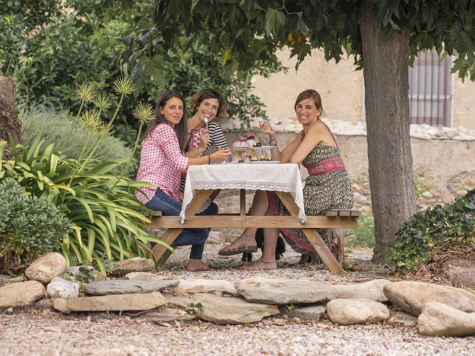 Christina Calatayud, Marta Vergés y Kristina Gual