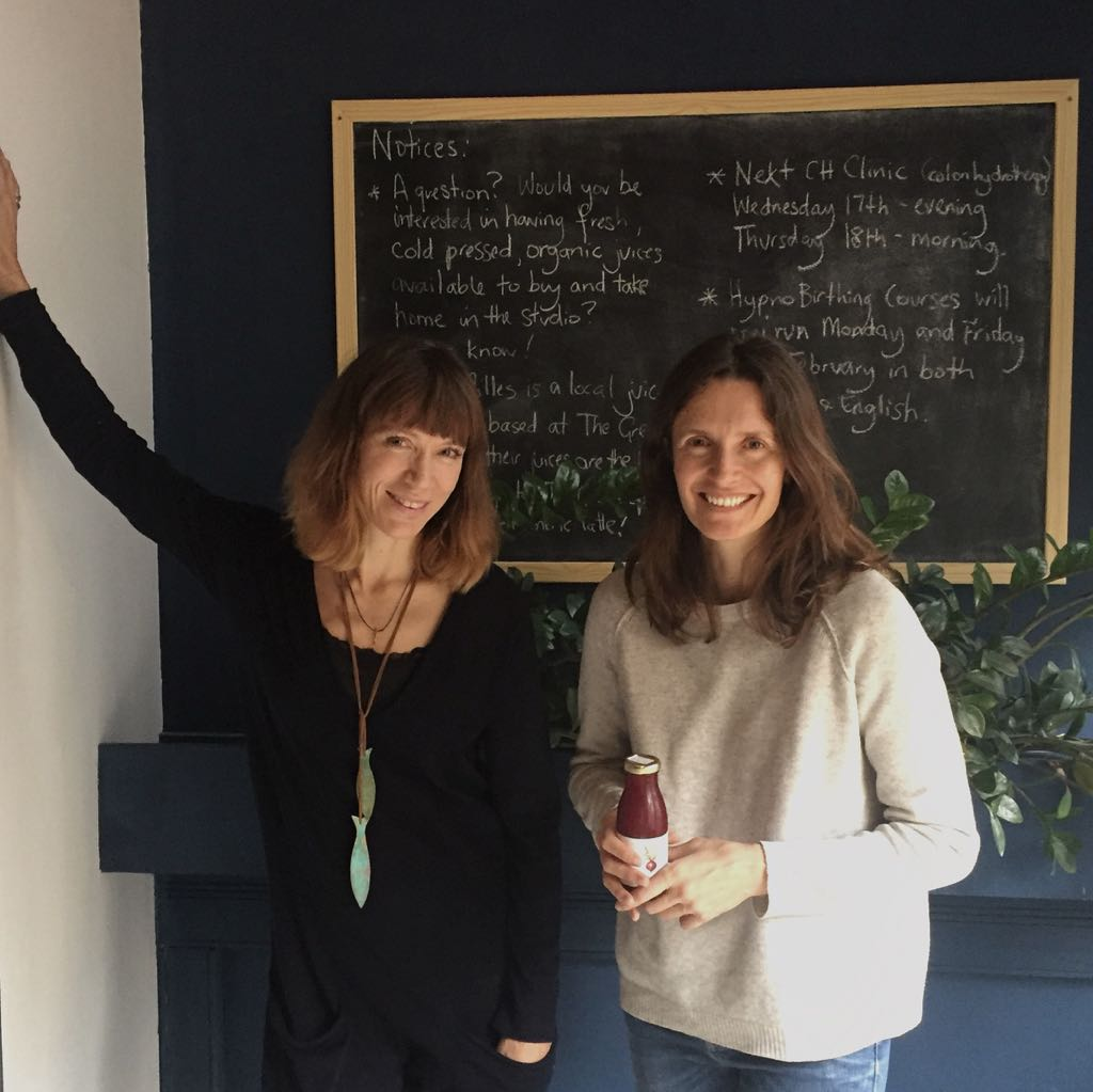 Directors of Loup&Filles, Tamsin Wright and Paola Ospina at Studio Australia Barcelona!