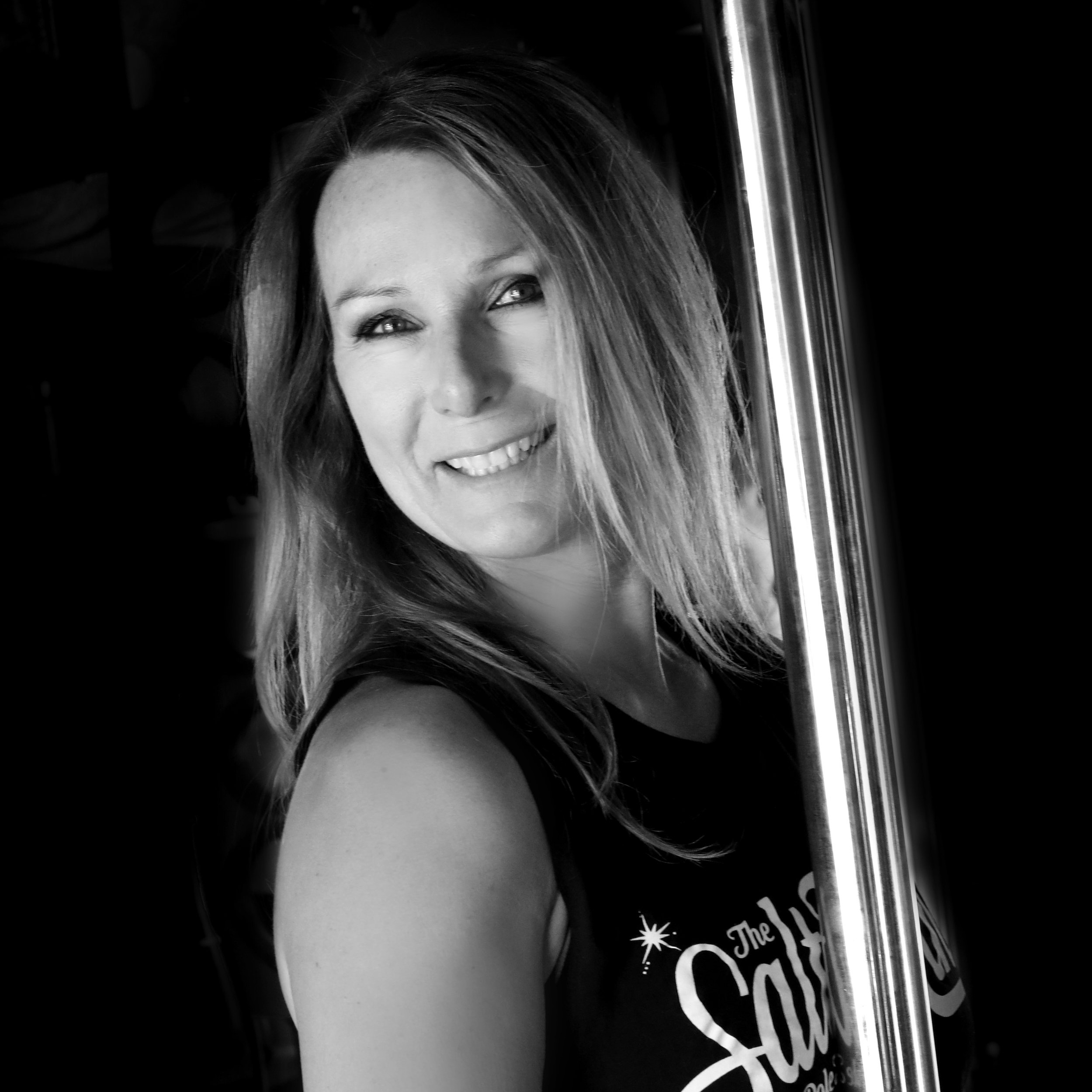 Shelley Meier - Shelly has been in the pole industry in Salt Lake since 2007. If you know a woman who has been involved with pole, chances are, Shelly was her first instructor! She embraces the sensuality of pole and loves helping students become physically strong and psychologically self confident. Shelly adores it when each students creates their own unique style of dance. She believes that pole is accessible to any woman, regardless of their age. Her motto is