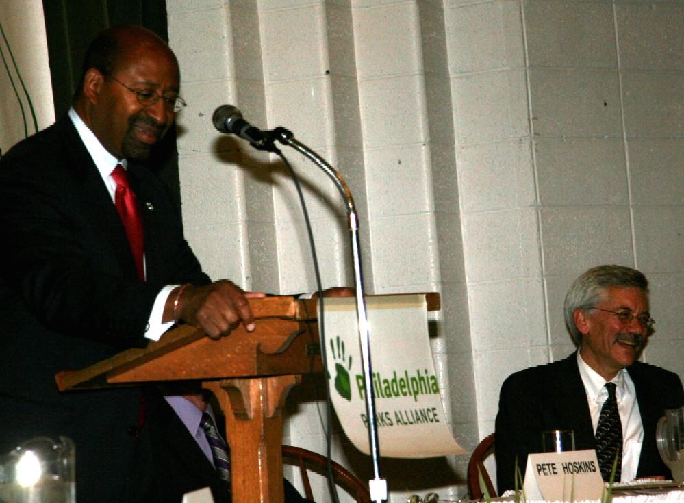 Mayor Nutter Speaks on Park Reform