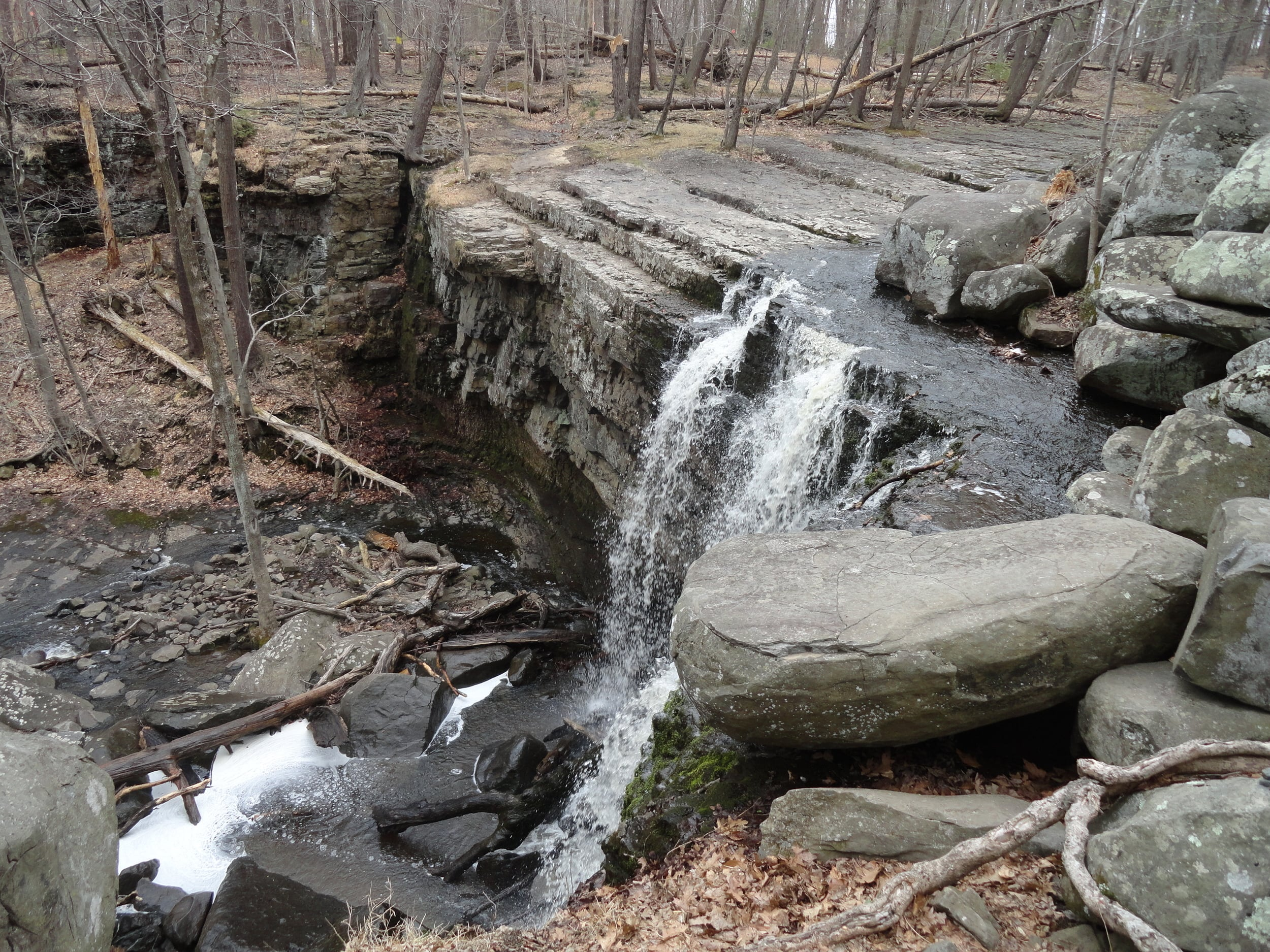 High Falls - Ringing Rocks Park.JPG