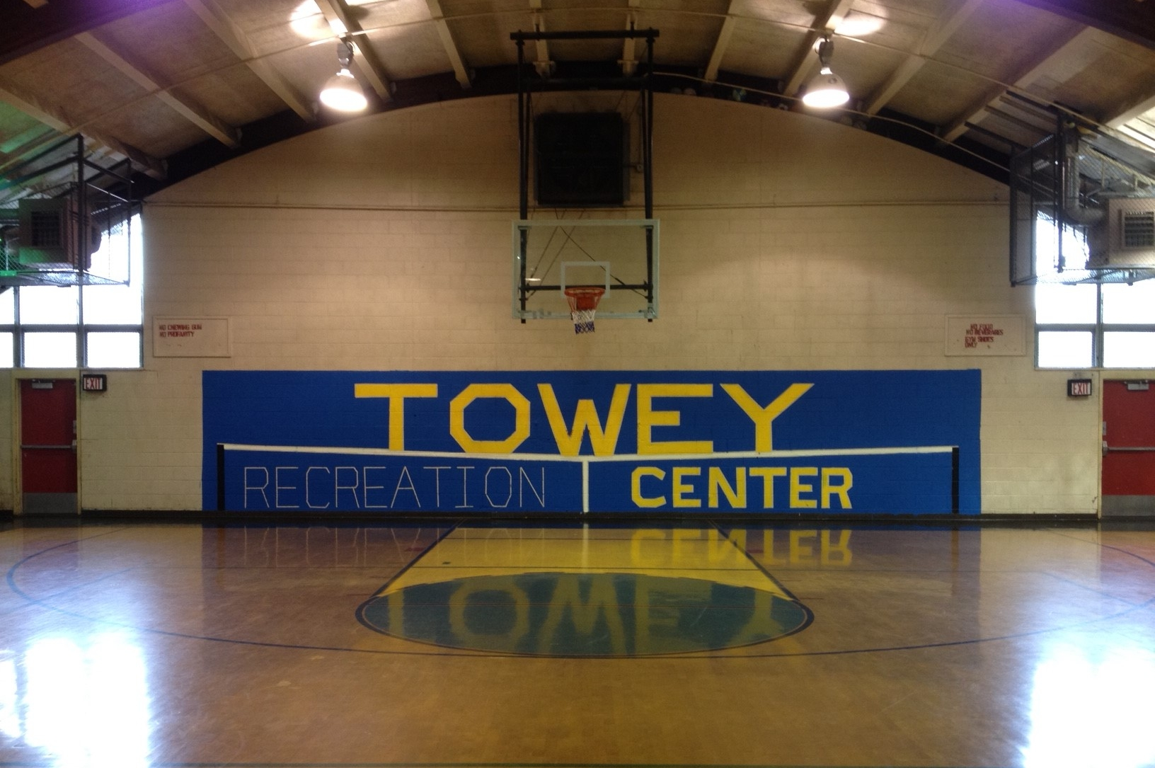 From   Towey Recreation Center