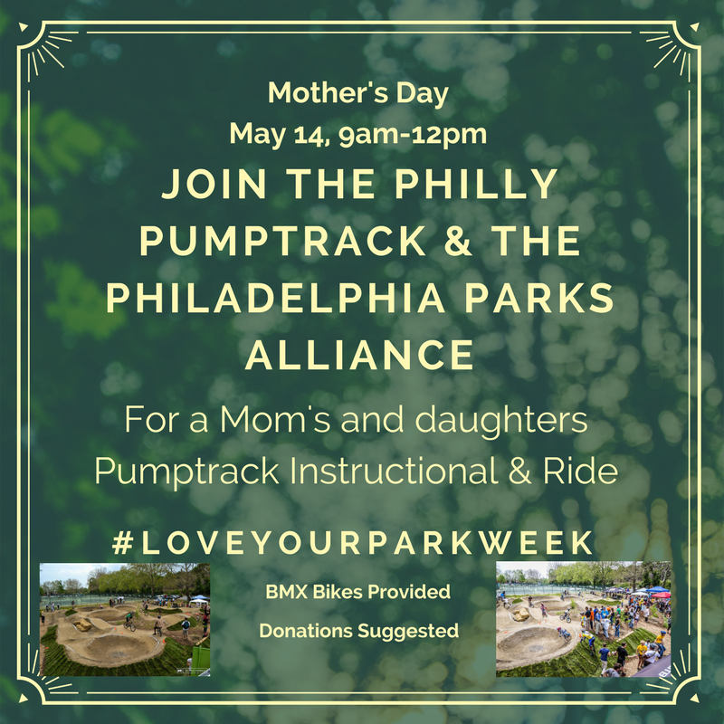 For more #LOVEyourpark events, check out the Fairmount Conservancy's website: http://loveyourpark.org/events/