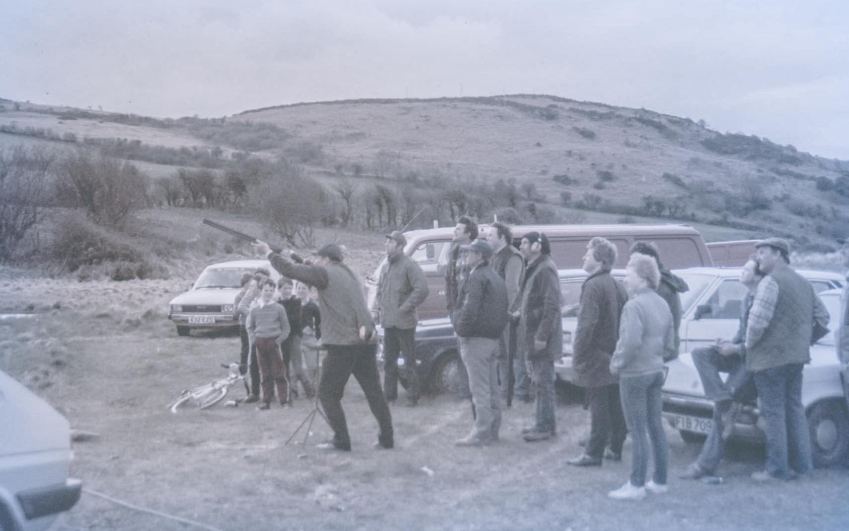 Inch Gun club clay shoot 1986.jpg