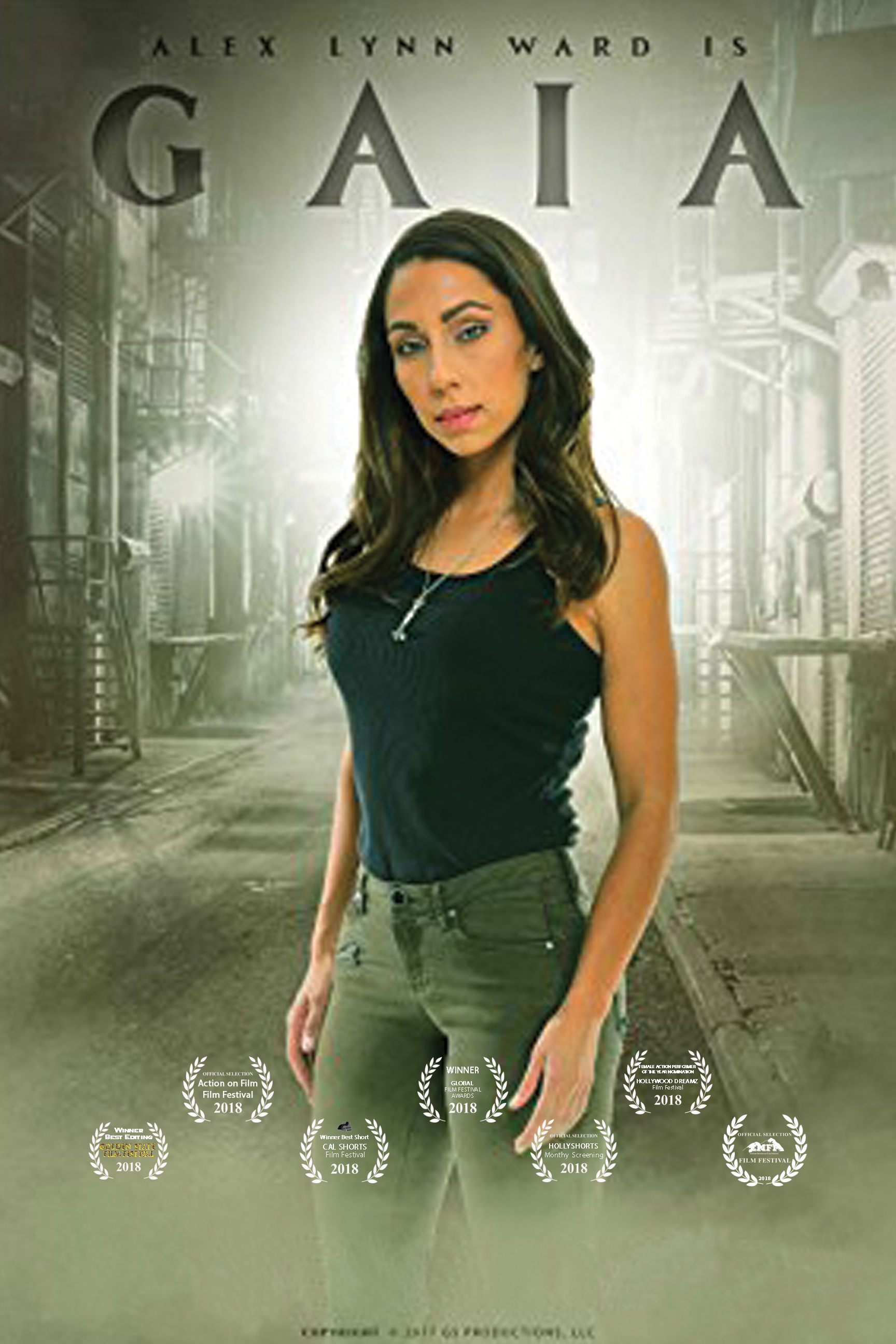 A former victim of human trafficking turned vigilante is now forced to face the man who sold her when she was just a teen.  Writer/Director: Gustavo Sampaio  Starring: Alex Lynn Ward
