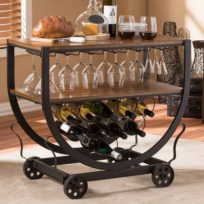 BRIGHAM BAR CART BY JOSS & MAIN