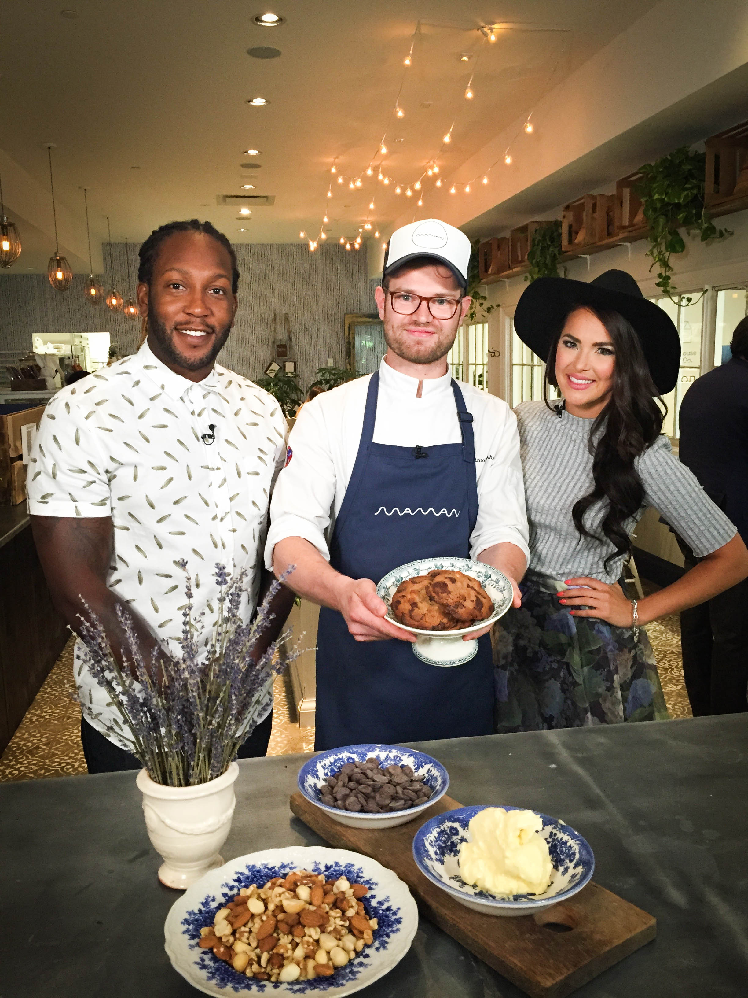 Had such a great day filming at Maman in Toronto with Chef Antoine and my co-host Tyrone Edwards!