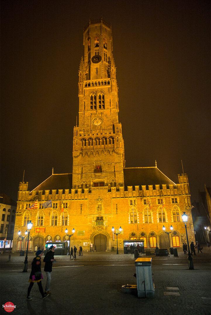 De Beffroi At Night