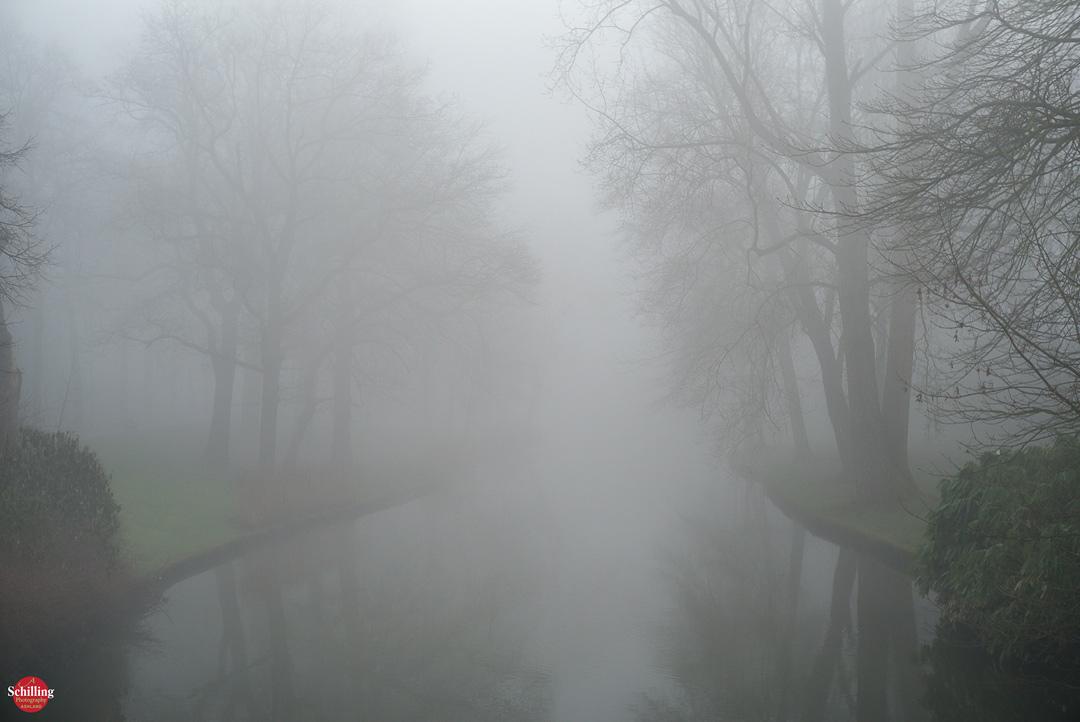 Foggy Waterway