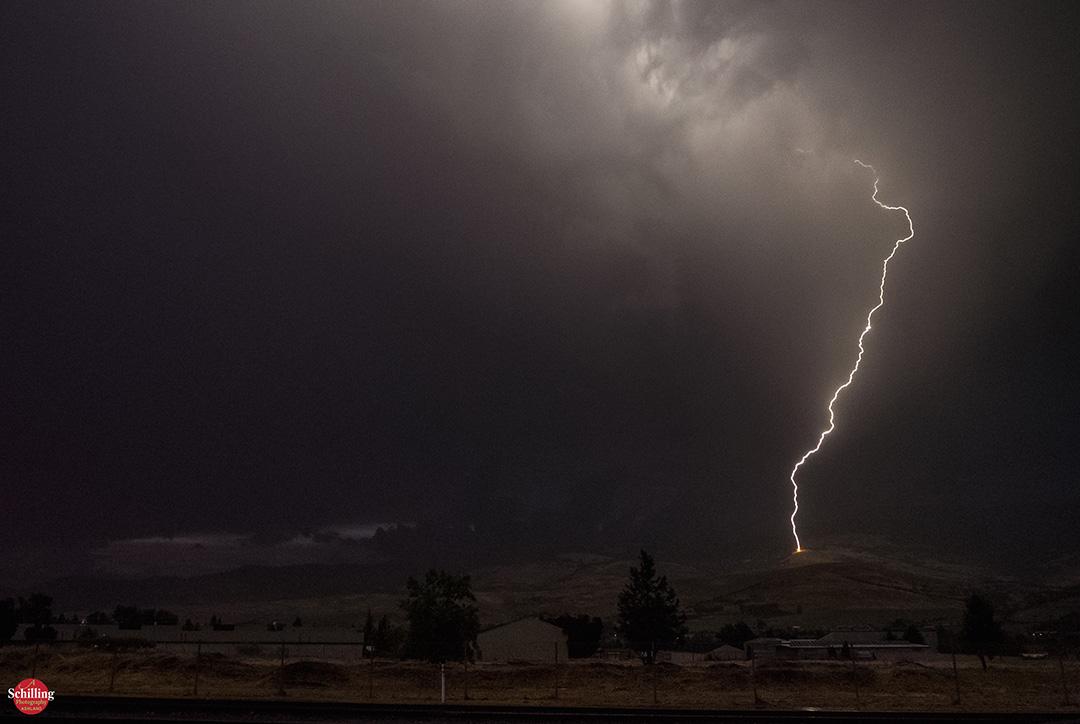 Lightning On Grizzly Peak
