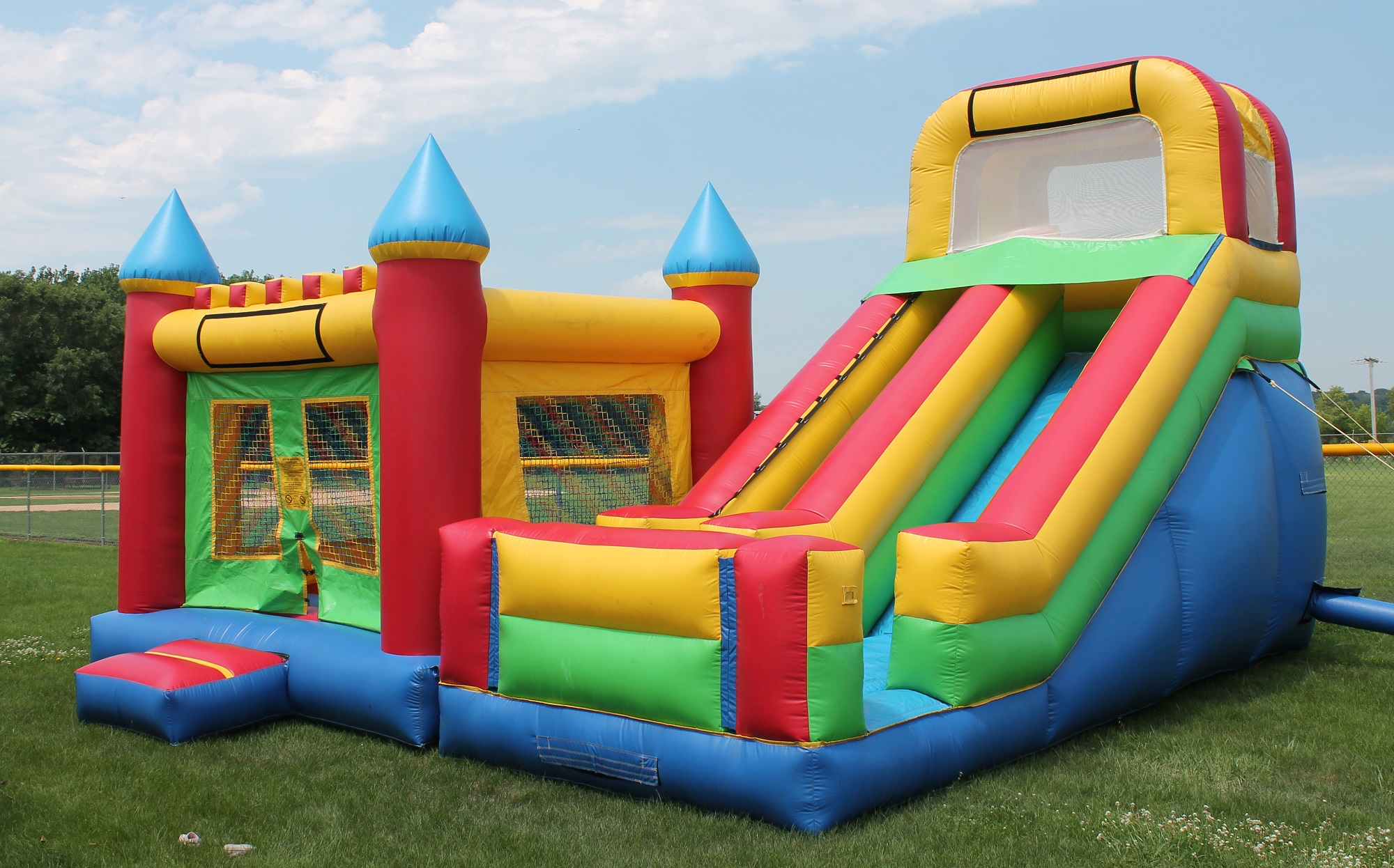 Bounce House & Slide Combo