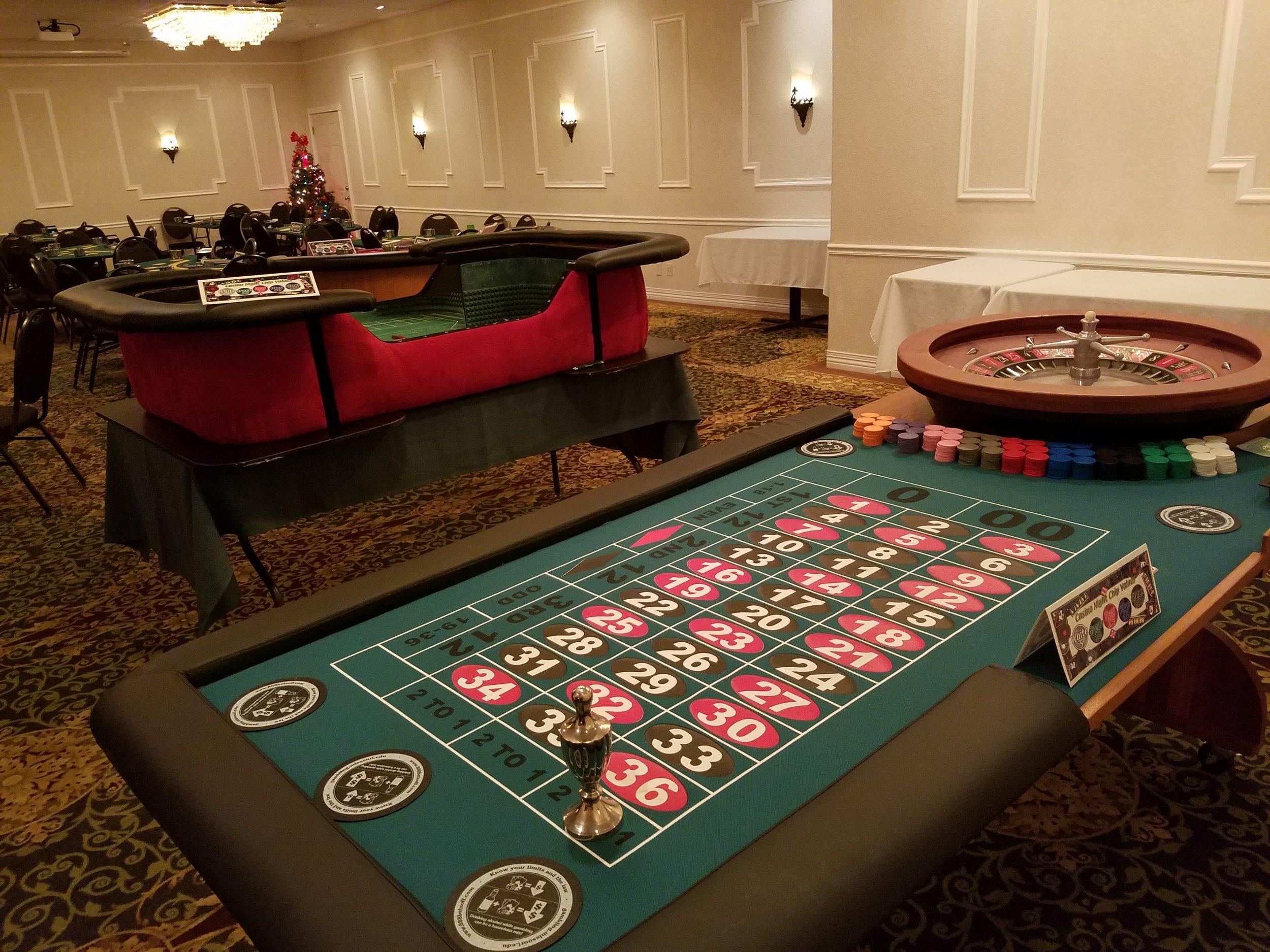 Roulette, Craps & Blackjack
